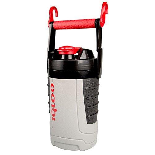 Igloo Proformance 1 Quart Sport Jug-Ash GrayRed Heat Gray