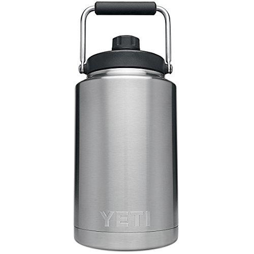 YETI 21070140001 One Gallon Rambler Jug Stainless