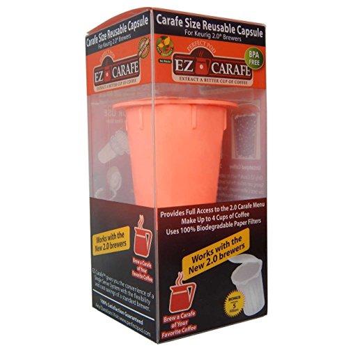Perfect Pod EZ-Carafe Refillable Capsule Keurig 20 compatible