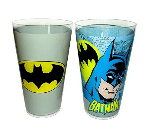 DC Comics 20 oz Acrylic Cup Set-2 Piece Batman