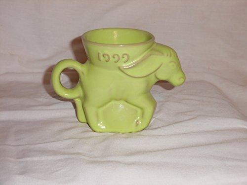 1999 Frankoma Donkey Mug DEM Democrat