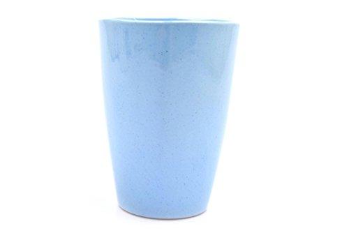 Frankoma Lazy Bones Blue 5 Tumbler Cup Drinking 12 oz