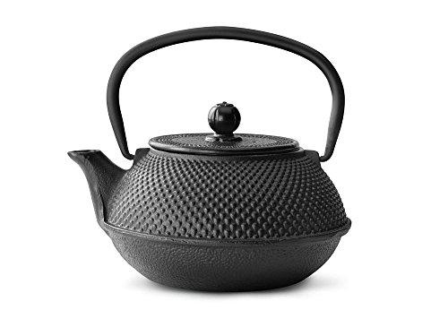 bredemeijer Jang Teapot 08-Liter Black Cast Iron