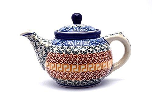 Polish Pottery Teapot - 14 oz - Autumn