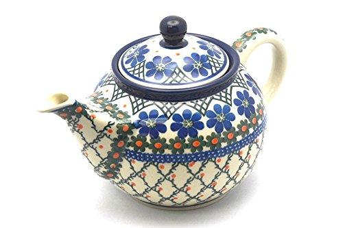 Polish Pottery Teapot - 34 qt - Primrose