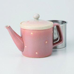 Japanese porcelain Hasami ware dott SS teapot hsm-J32-62799