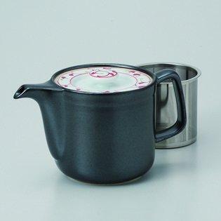 Japanese porcelain Hasami ware ginsai karakusa SS teapot hsm-J32-60172