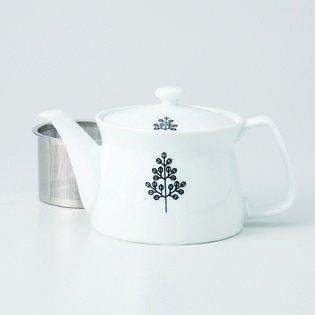 Japanese porcelain Hasami ware tree SS teapot hsm-J32-73544