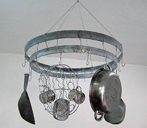 Rustic Pot Rack Hanger 34L x 6H