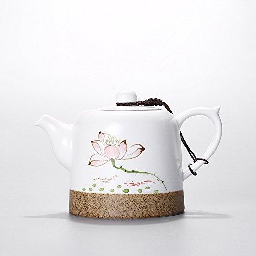 ASIBG Home Hand-painted teapot ceramic pot small tea pot porcelain tea setA