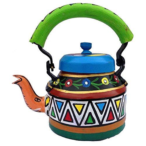 Hand-Painted Tea Pot Tea Kettle Vintage Teapotuse in Culture FunctionPicnic Showpiece