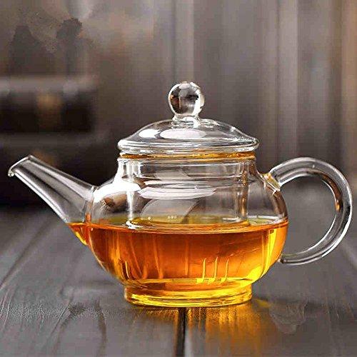ChSukho 250ml small capacity teapot  borosilicate glass heat-resistant teapot  kung fu teapot