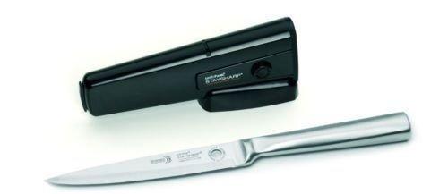 Wiltshire StaySharp Premium Stainless Steel Utility Knife - 13cm- With Sharpener