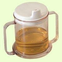 Sammons Preston Transparent Mug with Two Handles Transparent Mug