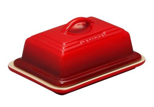 Le Creuset PG0307-1767 Heritage Stoneware Butter Dish 675 x 5 x 35 Cerise