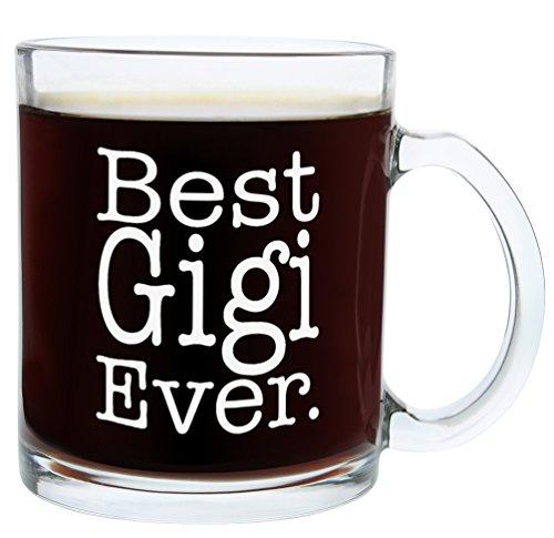 Christmas Gifts for Gigi Best Gigi Ever Funny Mothers Day Gift Glass Coffee Mug Tea Cup