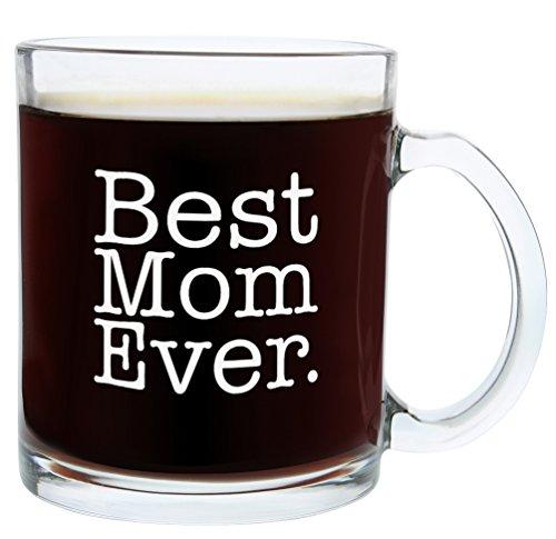 Christmas Gifts for Mom Best Mom Ever Funny Mom Gift Glass Coffee Mug Tea Cup