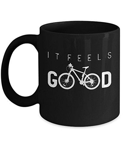 Mountain Bike Mug Bicycle Buking Print Funny Cycling Coffee Cup