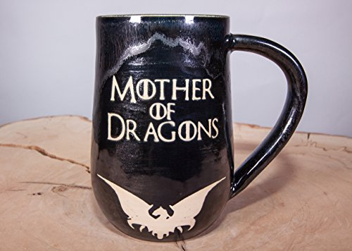Mother of Dragons Game of Thrones Handmade Coffee Mug