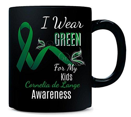 Kids Awareness I Wear Green For My Cornelia De Lange - Mug