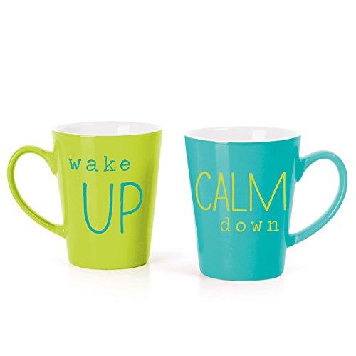 wit TealGreen Mug Box Set Calm