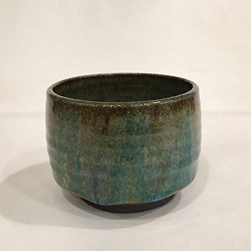 Green Tea Cup Ceramic Tea Cup Handmade Cup Pottery cup TCDEC17GRN15
