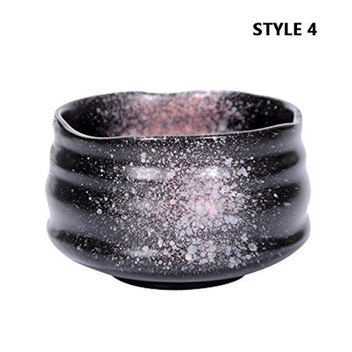 Lida - 4 Styles Yao Bian Ceramic Matcha Green Tea Cup - Big Size Matcha Bowl - 118x78cm