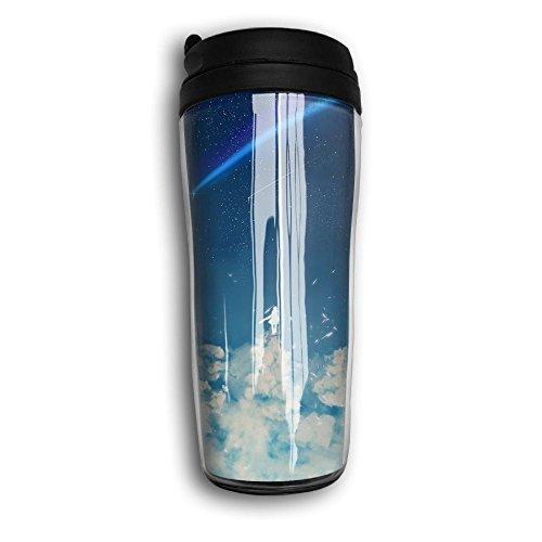 Chasing The Lucky Star Funny Coffee Mug Custom Tea Cup Insulated Travel Mug Christmas Present 350ml