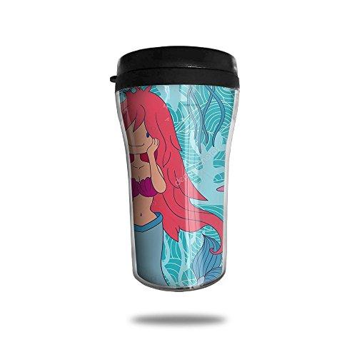 Jellyfish Mermaid Starfish New Fashion 85oz Coffee Mugs Thermal Mug Cute Small Tea Cups Breakfast Portable Exquisite Novelty