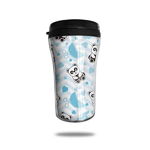 Naughty Baby Panda New Fashion 85oz Coffee Mugs Thermal Mug Cute Small Tea Cups Morning Portable Exquisite Novelty