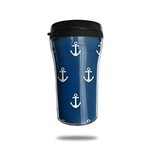 New Fashion 85oz Coffee Mugs Navy Southern Anchor Thermal Mug Cute Small Water Bottle Office Portable Exquisite Novelty