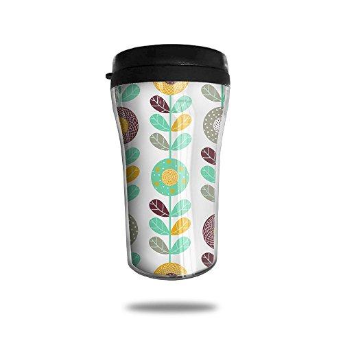 Sunflower Wonderland New Fashion 85oz Coffee Mugs Thermal Mug Cute Small Water Bottle Drinking Portable Exquisite Novelty