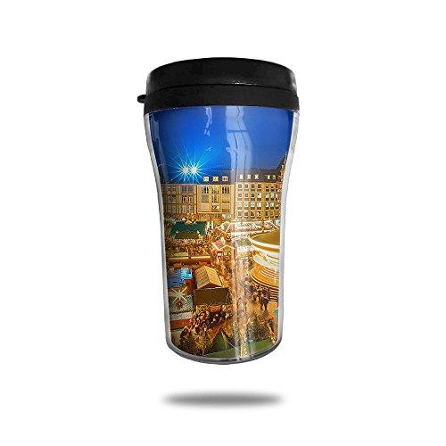 The Sleepless City New Fashion 85oz Coffee Mugs Thermal Mug Cute Small Coffee Mugs Home Portable Exquisite Novelty