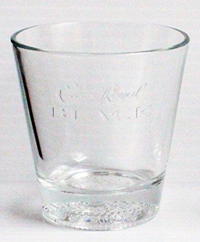 Crown Royal Black Promotional Tumbler Glass
