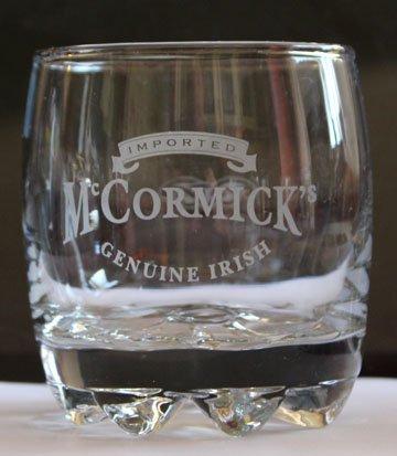 McCormicks Genuine Irish Cream Promotional Tumbler Glass