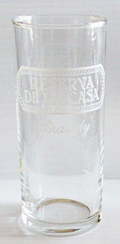 Reserva De La Casa Brandy 6oz Promotional Tumbler Glass