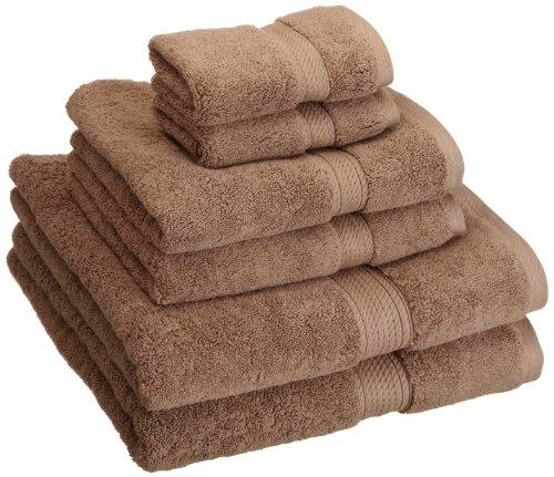 Superior 900GSM 6 PC LA Towel Set 6PC Latte