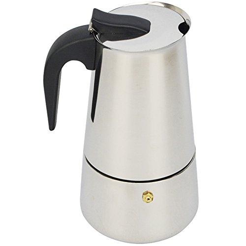 ATWFS 2469 Cups Stainless Steel Coffee Maker Moka Pot Espresso Cups Latte Percolator Stove Top Espresso Pot