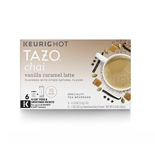 Tazo K-Cup for Keurig Brewers Vanilla Caramel Latte 24 Count