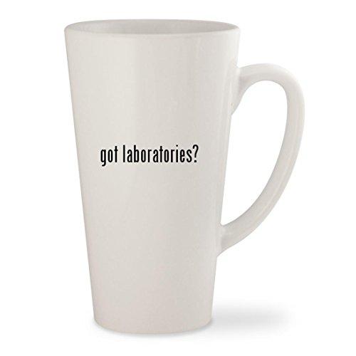 got laboratories - White 17oz Ceramic Latte Mug Cup