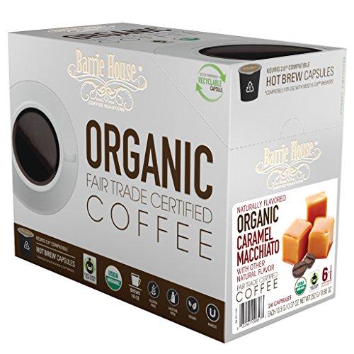 Barrie House Fair Trade Organic Caramel Macchiato Single Serve Capsules 48 Capsules