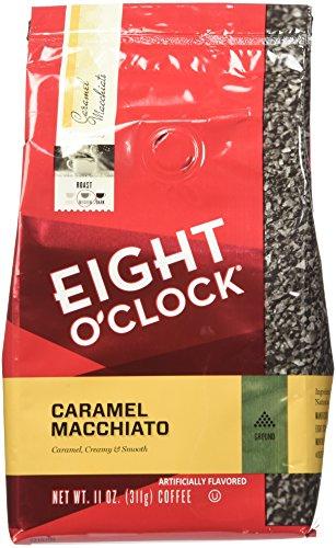 Eight OClock Coffee - Caramel Macchiato ground - 11oz Pack of 2