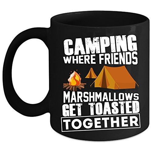 Cool Camping Coffee Mug Outdoor Coffee Cup Coffee Mug Black