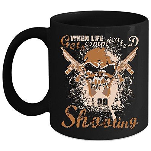I Go Shooting Coffee Mug Outdoor Coffee Cup Coffee Mug Black