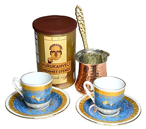 Turkish Coffee Cup Set 6