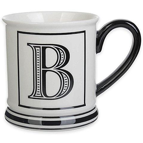 Formations Block Letter B Monogram Mug