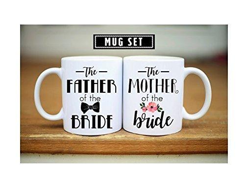 Father Mother of the Bride Mug Mother of the Bride Gift Mother of the Bride Mug Father of the Bride Gift Father of the Bride Mug Wedding Gift Wedding Mug Coffee Tea Mug