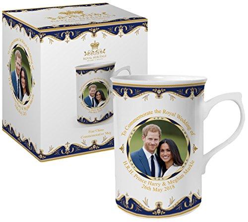 Royal Heritage - Designed in England LP18072 Commemorative Wedding Mug Gift White