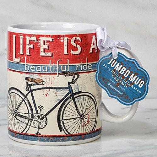 Certified International Jumbo Mugs - Everyday Life Is A Beautiful Ride 30 oz