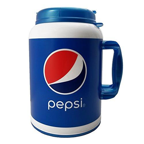 New 100 Oz Pepsi Travel Mug Foam Insulated Blue Huge Giant Big Super Size Jumbo Mug